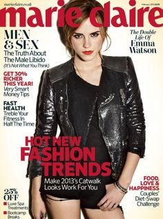 Emma Watson Marie Claire Cover February 2013