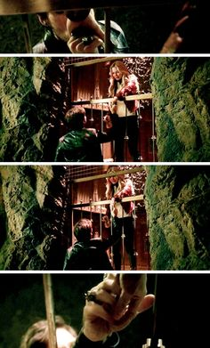 """5x20 """"Firebird"""" He kissed her hand, and then tried to hold on as long as he could...(sigh)"""