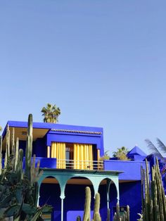 Morocco Travel Photo Diary: Majorelle Garden - Looking for a visual escape to Morocco? I'm sharing all the details on the Majorelle Garden in Marrakech! Visit Marrakech, Marrakech Travel, Marrakech Morocco, Morocco Travel, Marrakech Hotels, Marrakesh, Places To Travel, Travel Destinations, Places To Visit