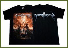 FL&AEVVE SONATA ARCTICA Reckoning Night T SHIRT Brand New Official T Shirt dibujos para camisetas