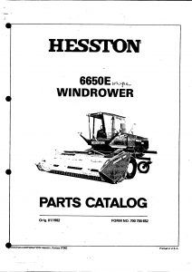 Zetor 6911 6945 Spare Parts Catalog download in 2020