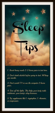 Trouble sleeping? Here are some tips to help you out. #sleep #insomnia
