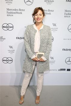 Cheyenne Savannah Ochsenknecht attends the Minx by Eva Lutz show during the Mercedes-Benz Fashion Week Berlin Spring/Summer 2017 at Erika Hess Eisstadion on June 29, 2016 in Berlin, Germany.   Zhiboxs.com