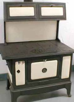 Cooking and Baking was done on a stove like this in my grandparents home in Viriginia