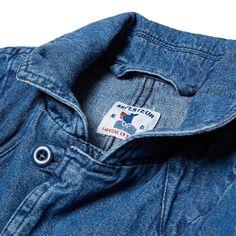 Arpenteur Mayenne Jacket (Indigo Wash Cotton)