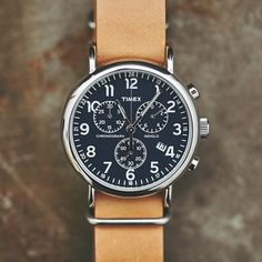 Timex Weekender Oversized Chrono Watch by Timex - Cool Material - 1