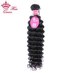 Get HumanHair Products At Cheap Prices  US $42.48     Wholesale Priced Wigs, Extensions, And Bundles!     FREE Shipping Worldwide     Buy one here---> http://humanhairemporium.com/products/queen-hair-products-virgin-human-hair-1-piece-deep-wave-bundles-unprocessed-brazilian-human-hair-weave-double-weft-natural-color/  #black_hair