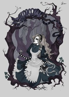 Iren Horrors | Alice in Wonderland | Alice and the Cheshire Cat