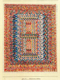 """art suisse : """"Portail d'une mosquée"""", Paul Klee"""