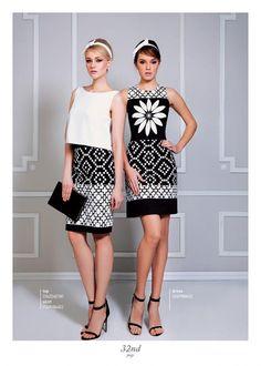 Digital tile printed outfits. Ss 15, Tile, Summer Dresses, Printed, Digital, Outfits, Collection, Fashion, Moda
