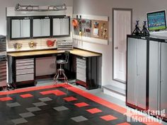 Nice and Tidy!  Everything That is Needed in a Garage Space