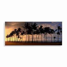Palm Paradise Canvas Print 58-Inch x 18-Inch Wall Art - BedBathandBeyond.com