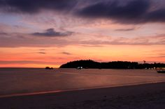 TWILIGHT AT KOH LIPE,SATUN,THAILAND
