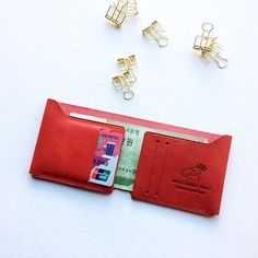 billfold wallet Simple Wallet minimalist wallet mens