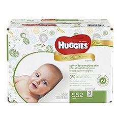 HUGGIES Natural Care Baby Wipes, Refill Pack (552  Sheets Total), Fragrance-free, Alcohol-free, Hypoallergenic