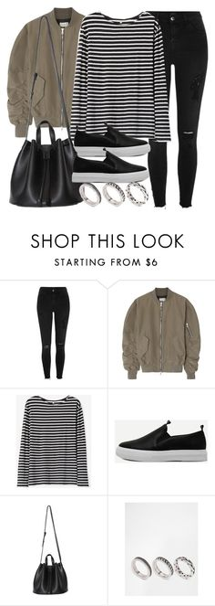 """Style #11581"" by vany-alvarado ❤ liked on Polyvore featuring River Island, Fear of God, Steven Alan and ASOS"