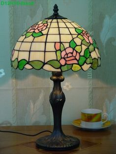 Rose Tiffany Lamps  12S0-159T311