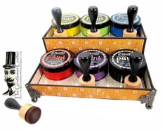 Image of Dylusional Paint and Applicator Holder Instant Download
