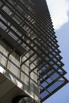 The Newton Suites residential tower in Singapore_Sunshade Detail