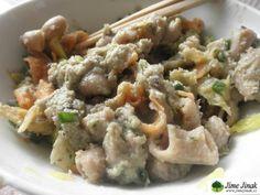 Těstoviny s pikantní fazolovou omáčkou » Jíme Jinak