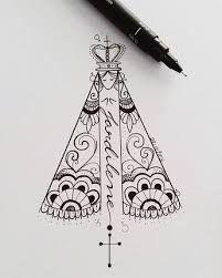 Resultado De Imagem Para Santa Tattoo Desenho Tatuagem Santas