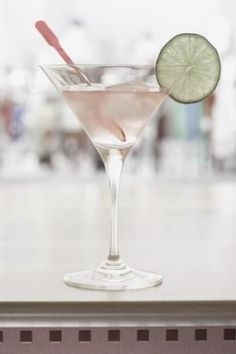 White Orchid (2 oz Vodka 1 oz. simple syrup 1 oz. fresh lemon juice 1 oz. Ocean Spray white cranberry juice)