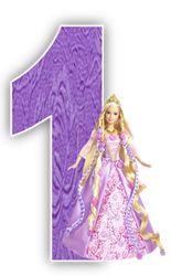 Alfabeto de Barbie Princesa.   Oh my Alfabetos!
