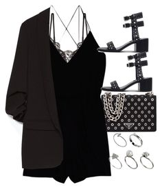 """Untitled #9608"" by nikka-phillips ❤ liked on Polyvore featuring Prada, Hanky Panky, Wilfred, Zara, Senso and ASOS"