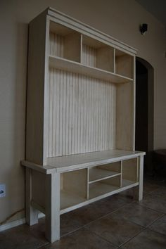 Ana White | Build a Tryde Media Console Hutch | Free and Easy DIY Project and Furniture Plans