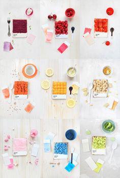 «Choose Your Color«, des tartines Pantone colorées pour le petit déjeuner des graphistes ! Un projet appétissant et original imaginé par Emilie de Griottes.