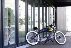 Electric Chopper Bike, Bicycling, Cycling, Bike, Bicycles, Biking, Ride A Bike