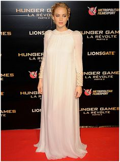 Jennifer Lawrence – Hunger Games: Mockingjay Part 2 Premiere at Le Grand Rex in Paris