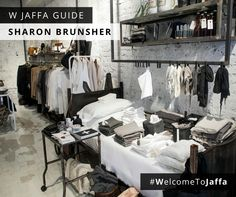 For those of you who like minimalistic monochromes, Sharon Brunsher's store in Jaffa is filled with beautiful stationary, bed linens, and wardrobe essentials like fine jersey t-shirts, cosy sweatshirts and comfy pajamas. For more of our Jaffa favorites, visit wjaffaguide.com. #WelcomeToJaffa
