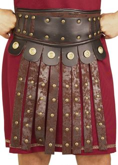 Roman Soldier Armour Apron With Belt