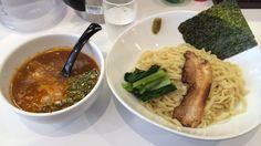 海老そば まるは 海老つけ麺 ¥850