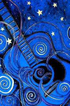 Blue Art Night's Melody A.k.a. Blue Guitar Monica Furlow