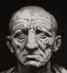 Голова старика. Мрамор. Сер. I в. до н.э. Рим, Музей Торлония.