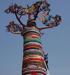 Artistic baobab