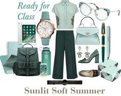Ready for Class - Sunlit Soft Summer