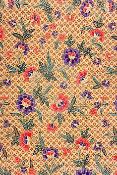 Indonesian Batik Sarong #patterns