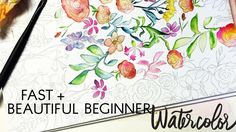 Artist/Author Kristy Rice share several simple to learn watercolor painting tips that give you the tools to create beautiful paintings in short amounts of ti...