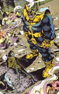 Death by Thanos - Angel Medina