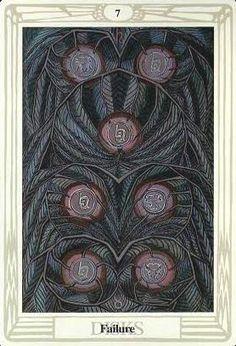 Ít biết Lá Seven of Disks – Aleister Crowley Thoth Tarot bài tarot