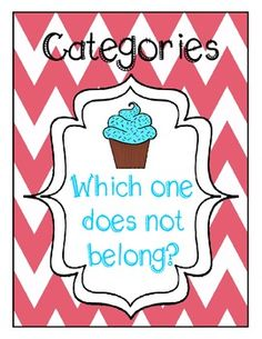 """""""Which one does not belong?"""" flashcards and game. Another way to teach categories besides convergent/divergent naming. $1.50. Repinned by SOS Inc. Resources.  Follow all our boards at http://pinterest.com/sostherapy  for therapy resources."""