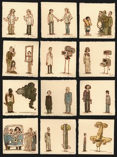More of LOST characters by artist Scott c.