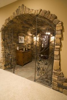 Widing Custom Homes - Traverse City Michigan- wine cellar?