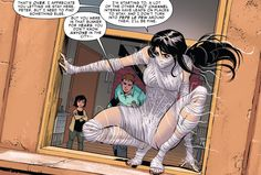 Silk checks out of Peter's apartment in Amazing Spider-Man (vol. Silk Marvel, Marvel E Dc, Marvel Funny, Disney Marvel, Marvel Comics, Marvel Comic Character, Comic Book Characters, Marvel Characters, Comic Books Art