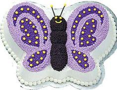 Butterfly Birthday Cakes Ideas