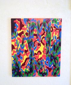 Fire Pixel by LColeStudios on Etsy, $99.95