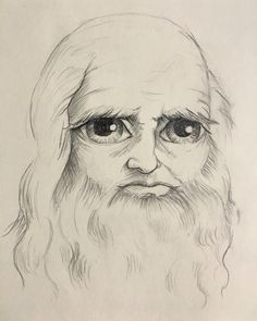 Leonardo Da Vinci  Pencil/paper
